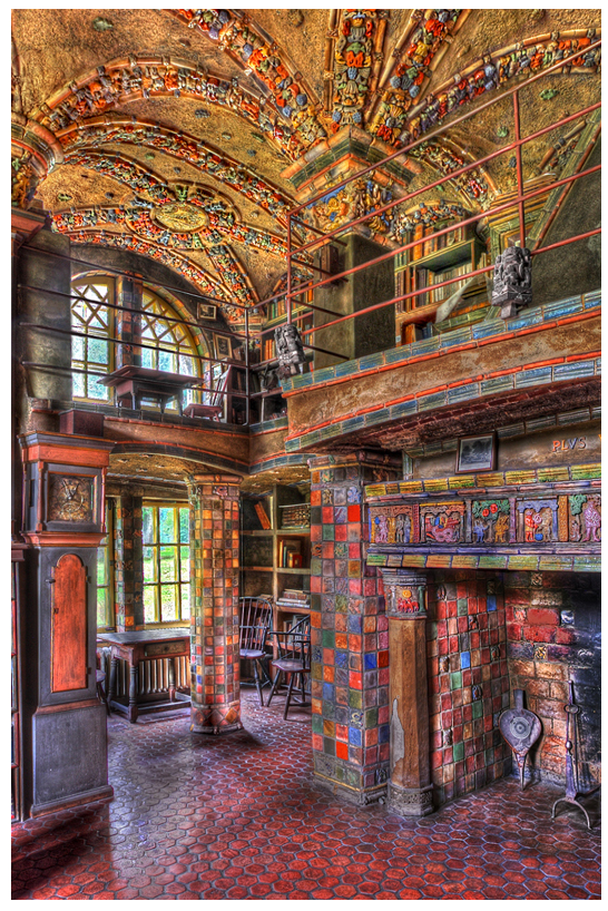 Mercer Tile Works : Fonthill castle update and new date announcement roamin