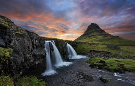 Sunset at Mt. Kirkjufell